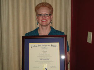 Dr Audrie's Diploma