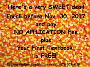 fall sweet promotion